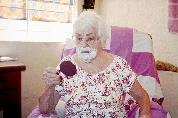 Így él az én 93 éves szuper nagymamám - fotók