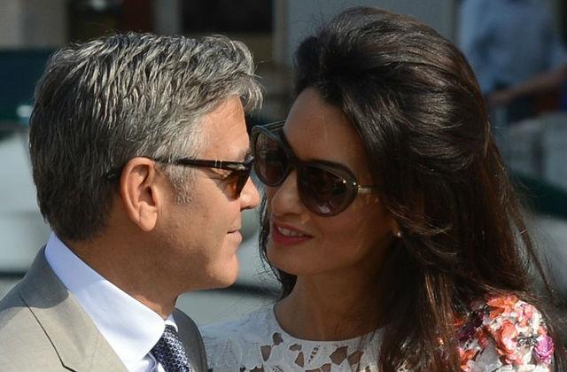 Így mondta ki a boldogító igent George Clooney