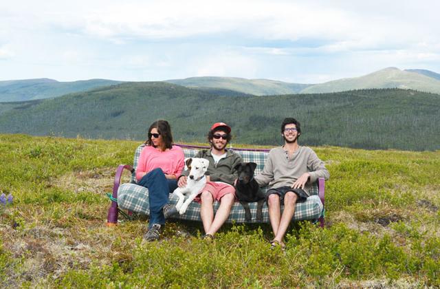 Egy kanapéval utazták be Amerikát - galéria