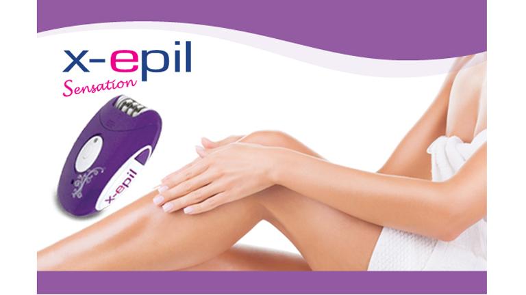 Nyerj X-Epil Sensation Epilátort és legyen bársonyos sima bőröd az év minden napján!