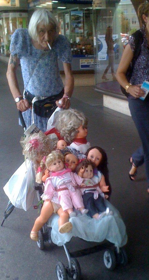 Elhoztam az unokáimat is