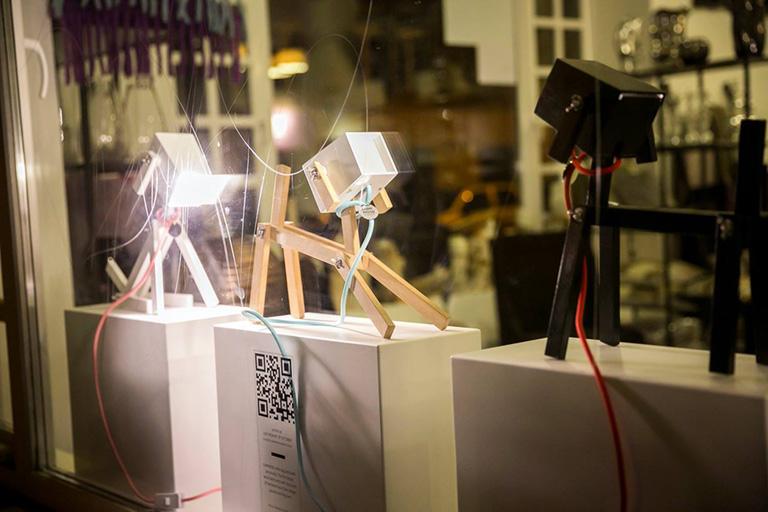 Design a kirakatban - a láthatatlanságba fulladt kiállítás