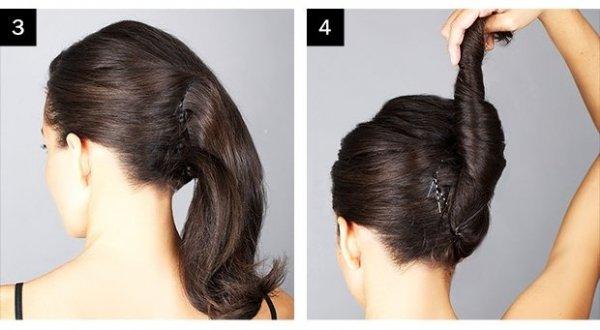 Hogyan készül a francia csavart frizura?