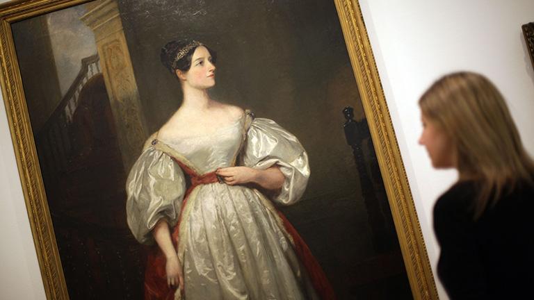 Margaret Carpenter portréja Ada Lovelaceről