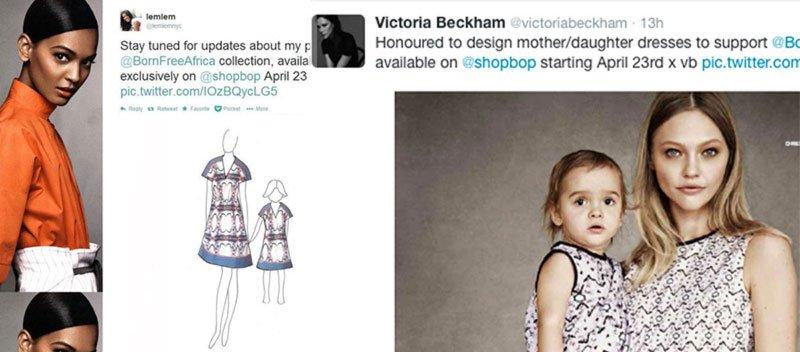 Modellek és gyermekeik híres divattervezők ruháiban
