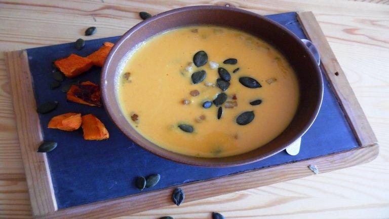 Az ősz levese: krémes sütőtökleves