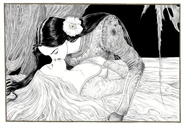 Leszbikus csókok Neil Gaiman új gyerekkönyvében