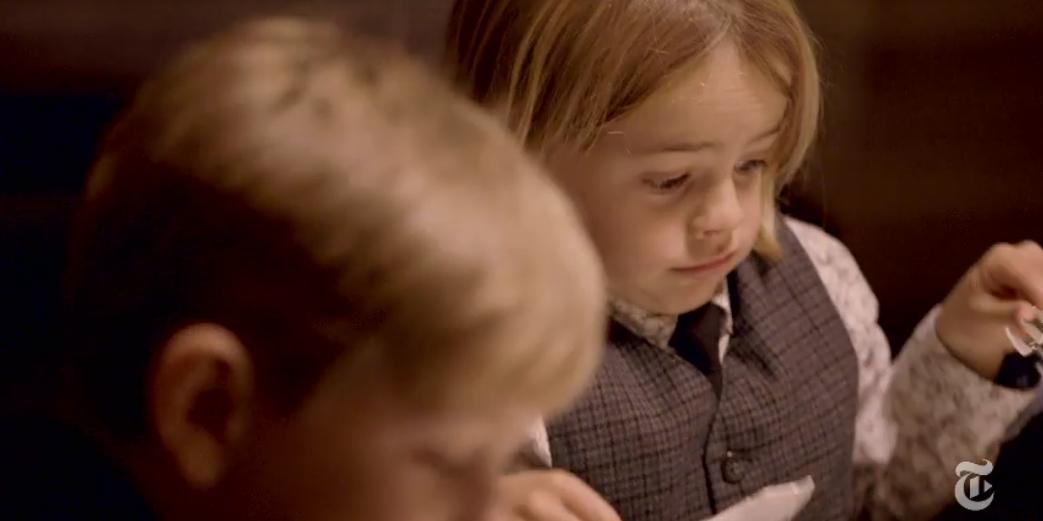Videó: gyerekeken tesztelték a csúcsgasztronómiát