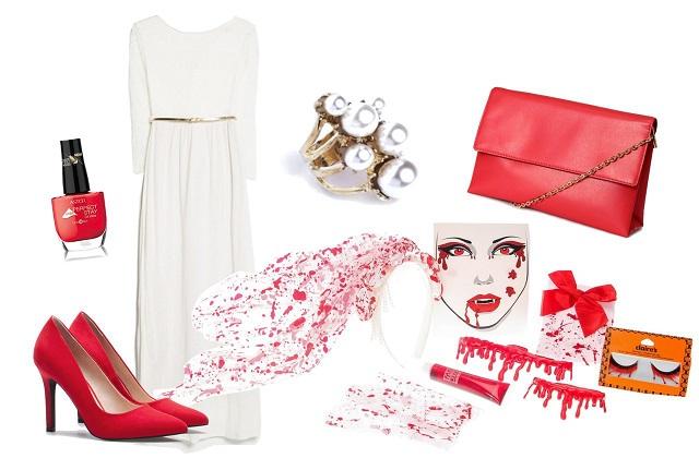 Ruha: Zara, táska, cipő: Bershka, gyűrű: Gemini Hungary, kiegészítők: Claire's, körömlakk: Astor