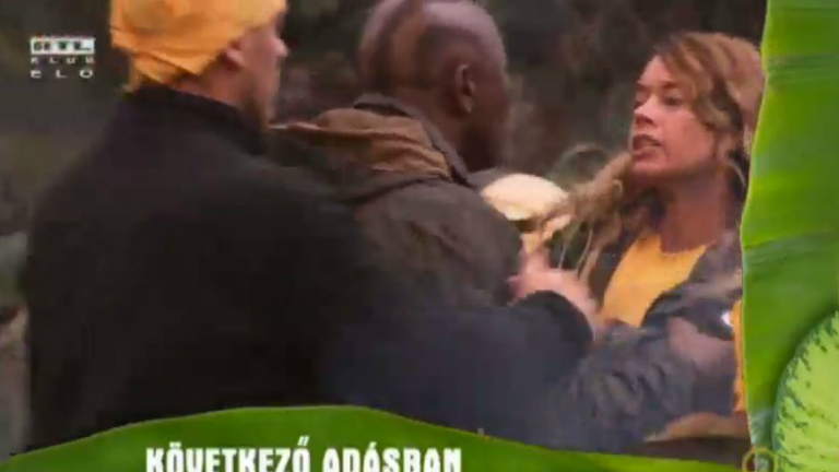 Durva vita: Pákó veréssel fenyegette meg Évát - videó