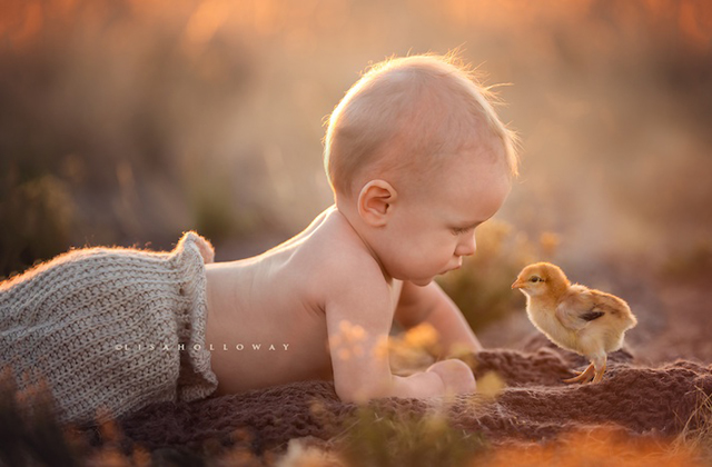 Csodaszép fotókat készít gyerekiről a tízgyerekes fotós
