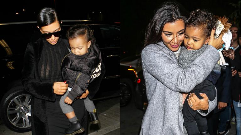 Kim Kardashian lánya, North