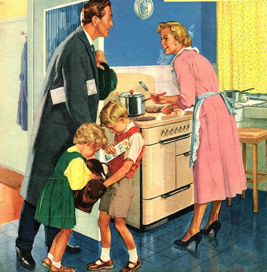 A boldog gyerekek érdekében, le a mintaanyákkal!
