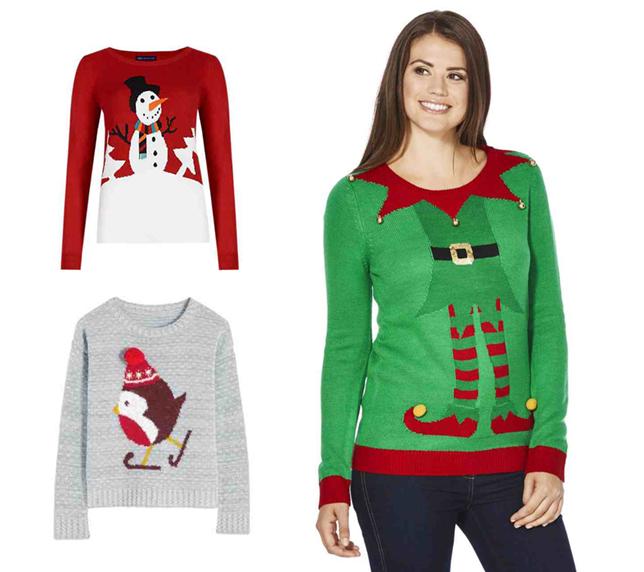 F & F karácsonyi pulóverek