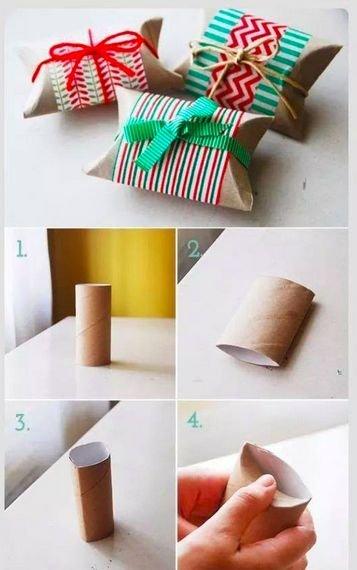 DIY karácsonyi csomagolások