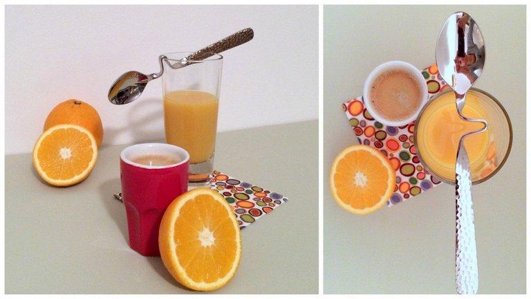 Tej helyett önts narancslét a kávédba