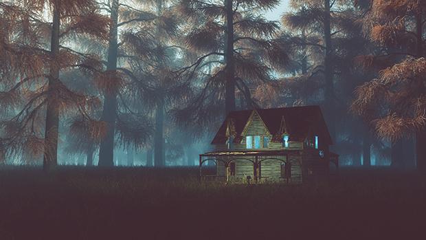 Kísértetjárta házak és félelmetes tájak - fotókkal