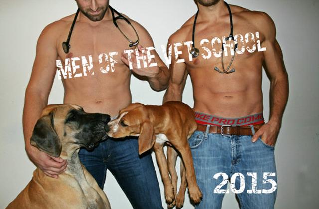 Az állatokért vetkőztek a leendő állatorvosok - fotók
