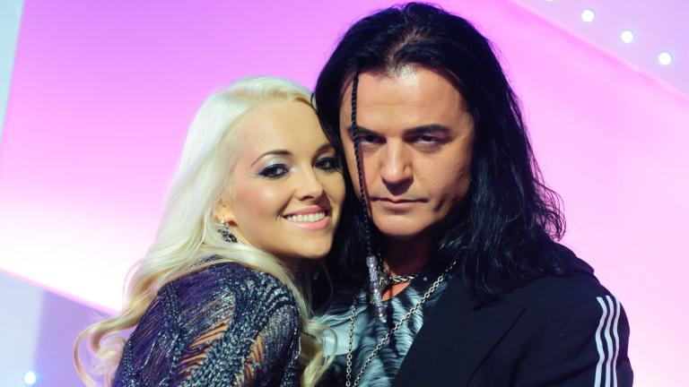Az énekes és kedvese a Mr. és Mrs. tavalyi évadában