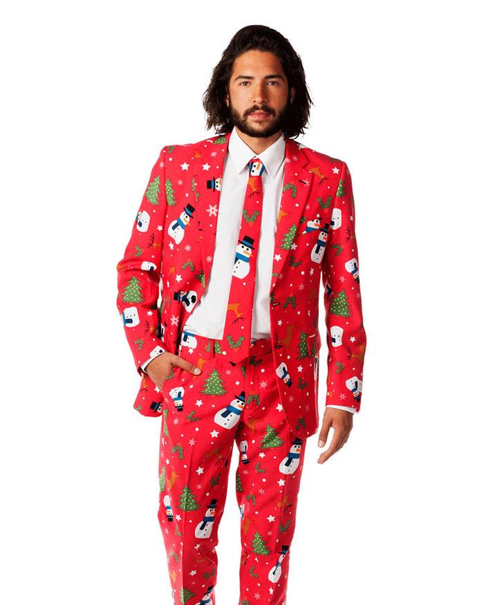 Csúnya karácsonyi pulcsi helyett, szexi ünnepi öltöny