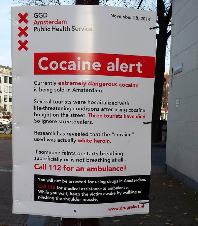 Hollandiában nem tartóztatnak le, ha drogozol