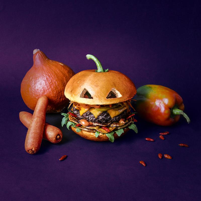 Hamburger 12 szerepben - bizarr ételfotók