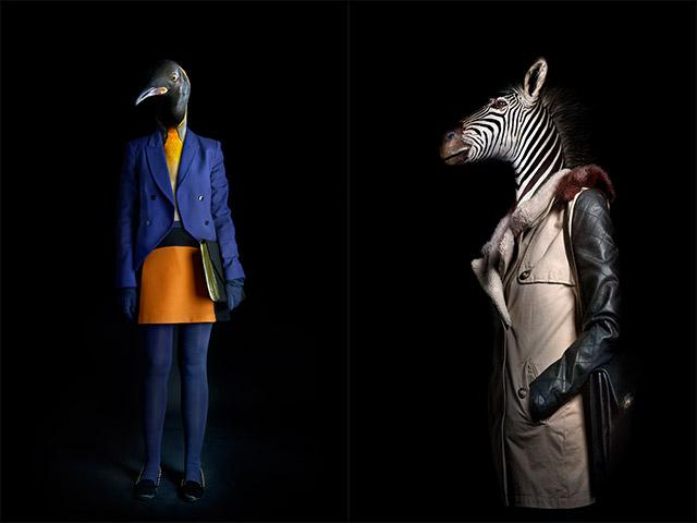 Ilyen lenne, ha az állatok iembernek öltöznének - galéria