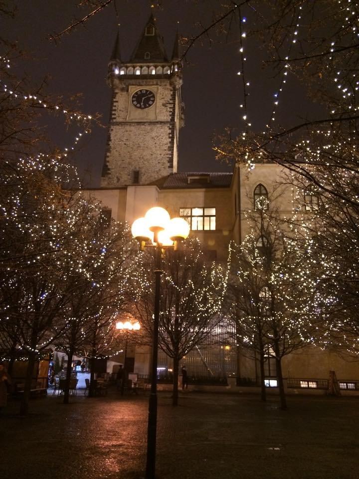 Csodás esti fények Prágából!