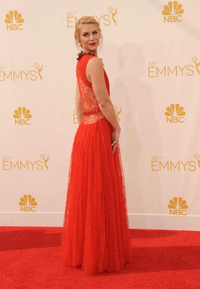 Claire Danes/Emmy díjátadó
