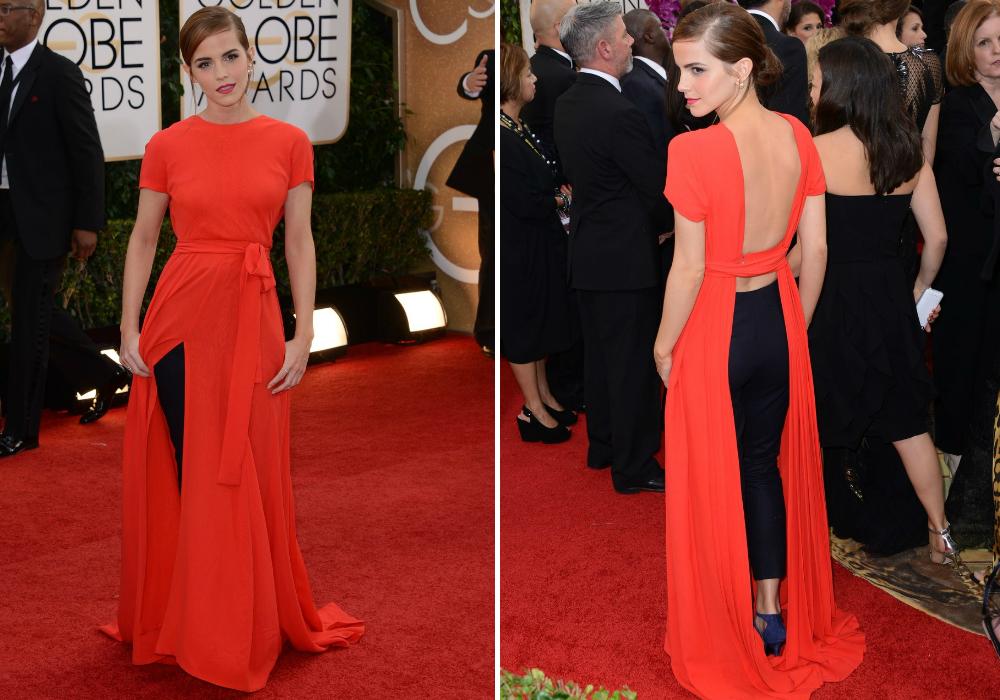Emma Watson/Golden Globe díjátadó