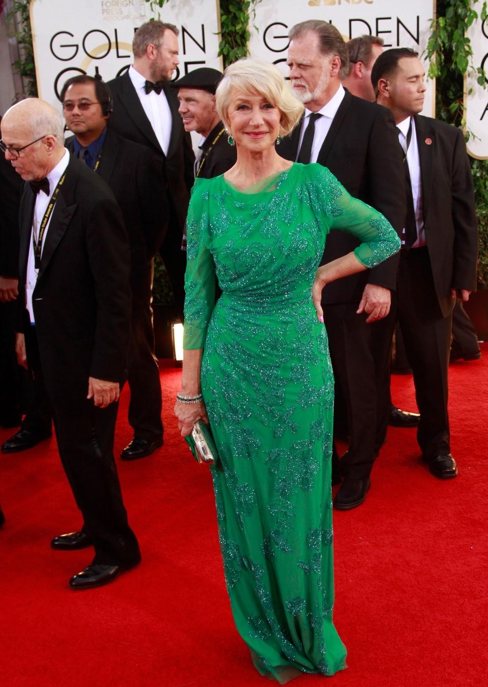 Helen Mirren/Golden Globe díjátadó