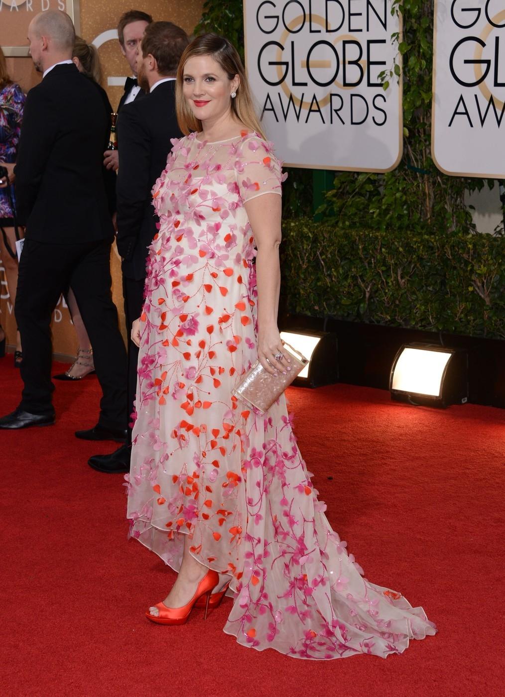 Drew Barrymore/Golden Globe díjátadó