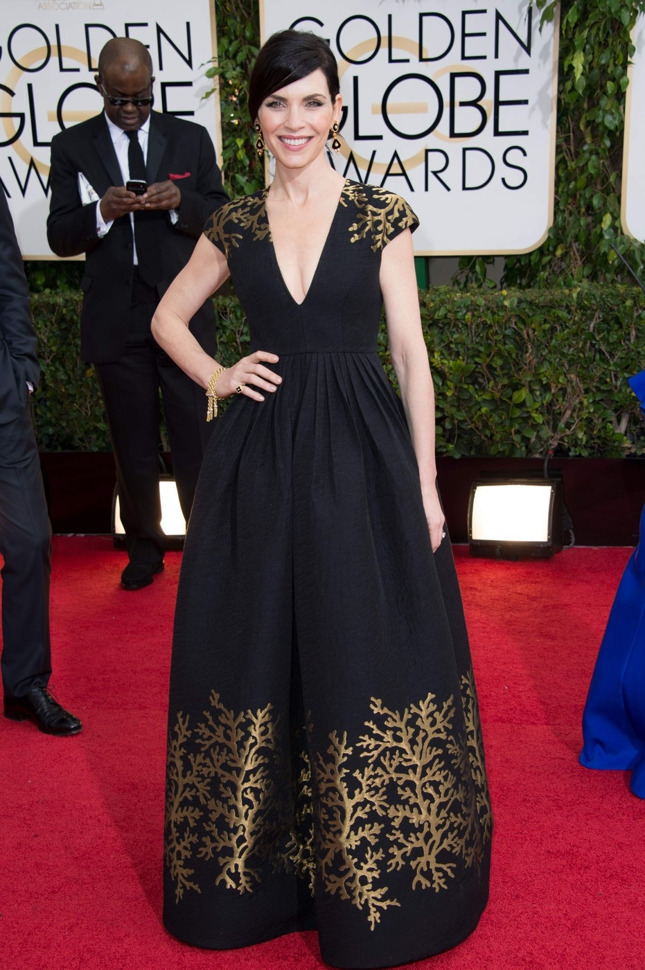 Julianna Margulies/Golden Globe díjátadó