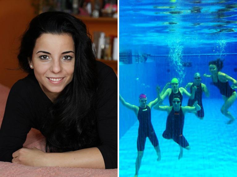 Lábak nélkül szárnyal a medencében- interjú Illés Fanni paralimpikonnal