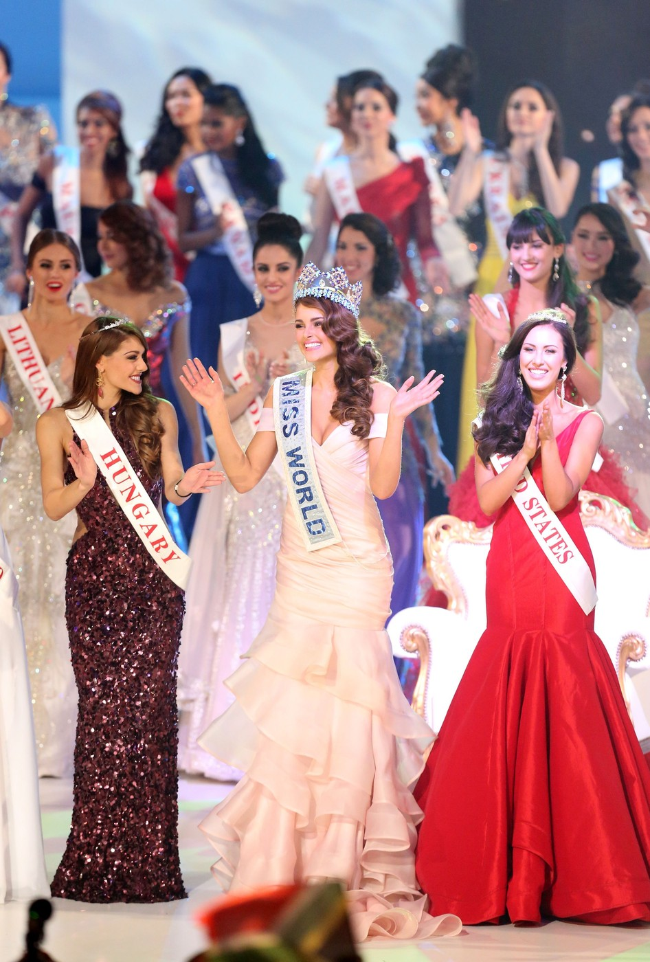 Miss World 2014 - Második lett a magyar lány, Kulcsár Edina