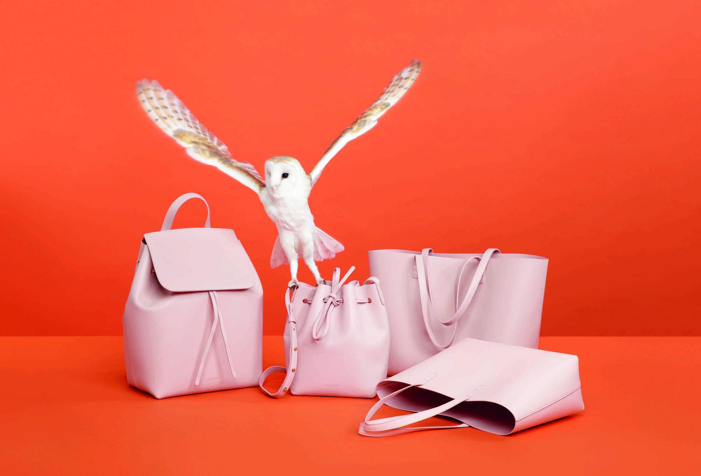 Különleges állatokkal reklámozza táskáit a tervező