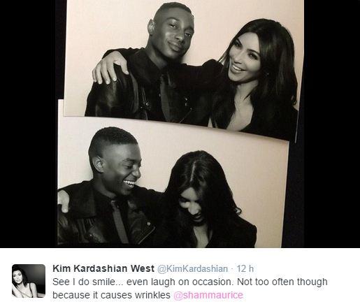Kim Kardashian bevallotta, miért nem mosolyog