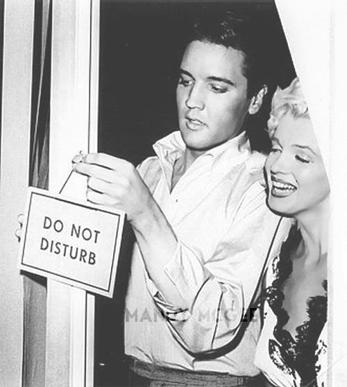 1956-ban Elvis ügynökei megálmodták a pr-szerelmet, ám Marilyn akkor még visszautasította a kirakatkapcsolat ajánlatát: számára