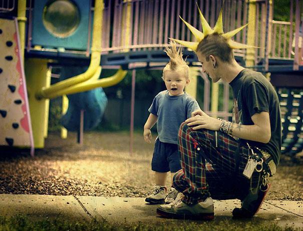 Apák és fiúk megismételhetetlen pillanatai