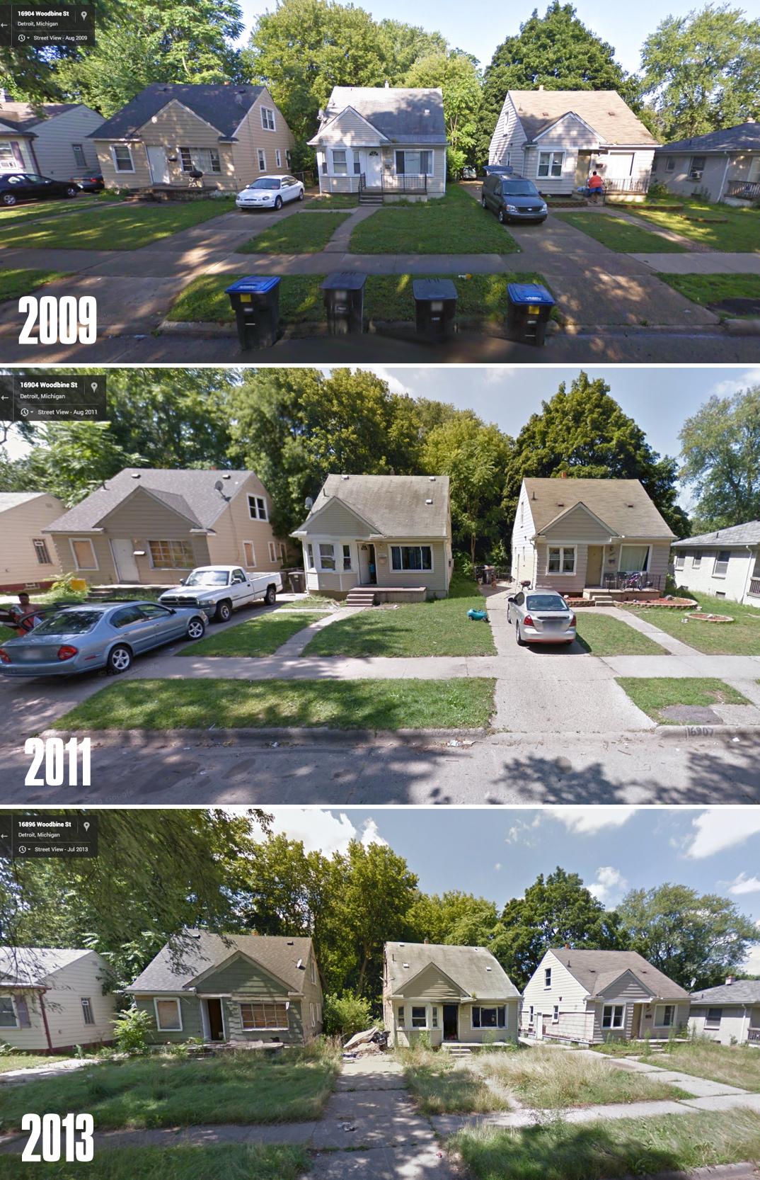 Így pusztult le néhány év alatt Detroit