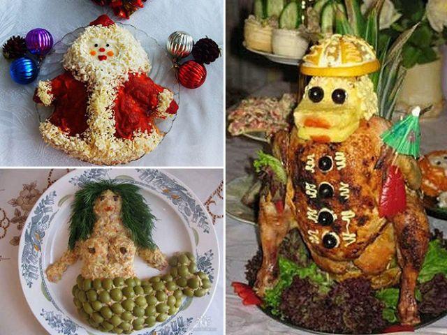 Az orosz művészi ételek több mint csodásak