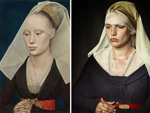 Festménybe illő ruhákat készít ez a nő