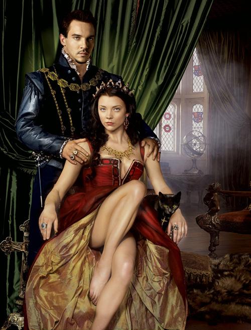 Boleyn Anna a Tudorok sorozatban