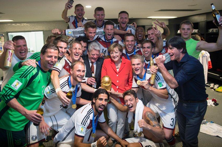 A világbajnok német csapattal