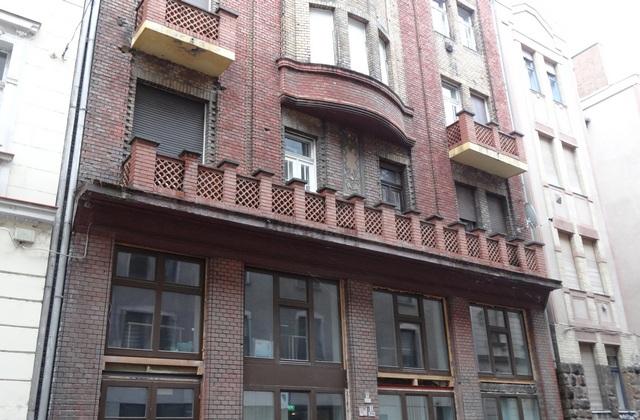 Az egykori zsidó kaszinó épülete