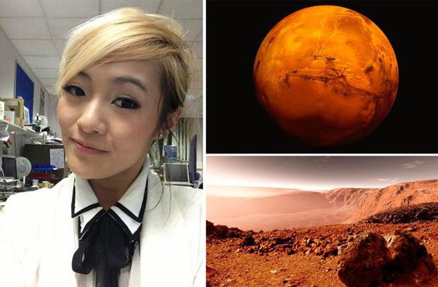 A Marson akar szülni egy nő