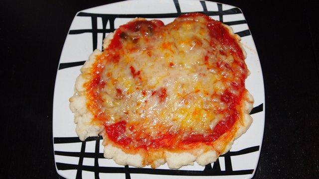 Glutén- és tejmentes pizza