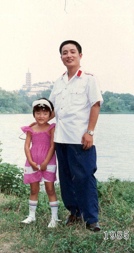 35 éven át fotózkozott ugyanott apa és lánya