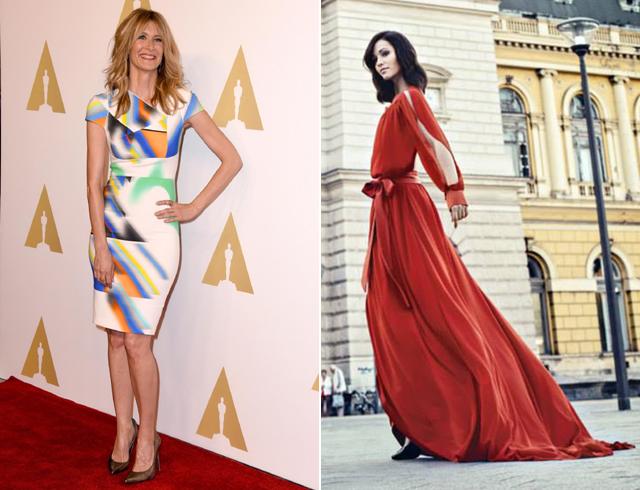 Oscar-díj: így öltöztetnénk a sztárokat, magyar tervezők kreációiba