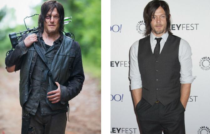 Így néznek ki a The Walking Dead szereplői, ha lemossák magukról a zombidzsuvát
